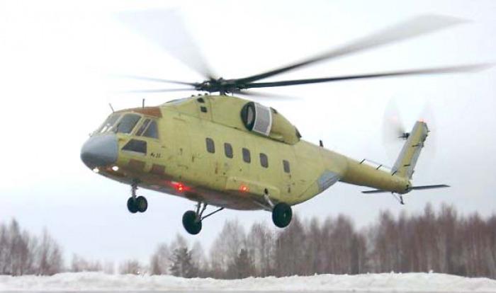 2018 végéig átadják az első Mi-38T helikoptert