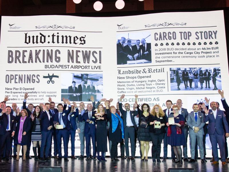 Repülőtéri partnereit jutalmazta a Budapest Airport 092c4fa4aa